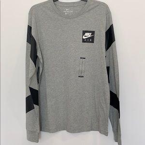 NWT Nike Air long sleeve shirt